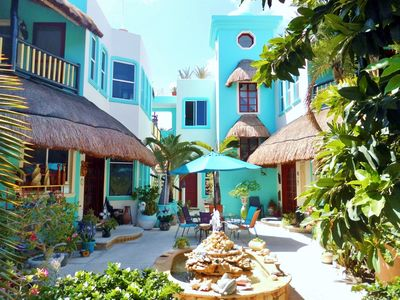 Photo for Comfortable apartment in a charming boutique villa in North Akumal