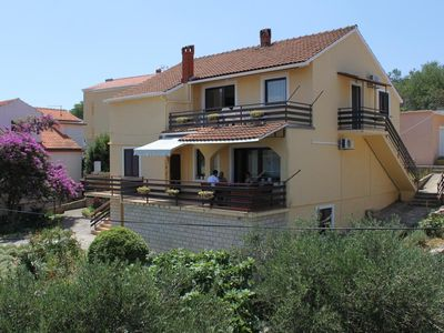 Photo for Two bedroom apartment with balcony and sea view Sali (Dugi otok)