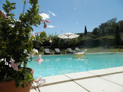 Photo for very charming studio with pool 3 étoilesdans park of 5000m2