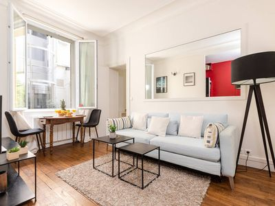 Photo for Steps from Arc De Triomphe and Champs Elysees - Romantic Studio