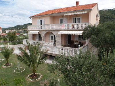 Photo for 4 **** Luxury vacation apartment Villa Ivo - 4 Wi-Fi & air conditioning, 2 x double + 2 x bathroom + Whz