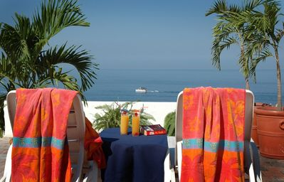 Enjoy the view from the public deck....
