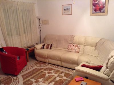 Photo for 3 bed poolside town house.Child safe and friendly.