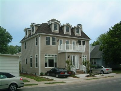 Photo for 10 minute walk to Beach & Boardwalk.  5 minutes to Rehoboth Avenue
