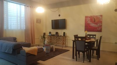 Photo for My WEST little corner apt. is a 3BR/FREE Parking/WIFI/AC/SLEEPS 6/Kids friendly