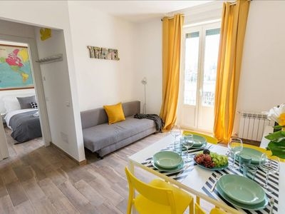 Photo for Brand new two-room apartment Viale Certosa! WIFI, A / C!