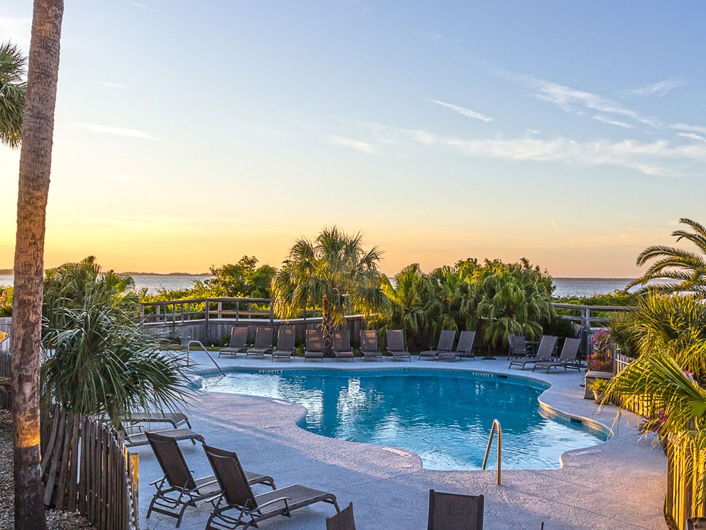 Amazing Sunset Views Of Savannah River From Homeaway