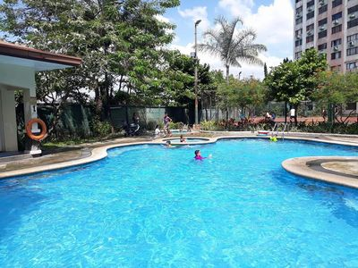 Photo for Fully Furnished 50 sqm, 2 bedroom condo in Cambridge Village, Cainta