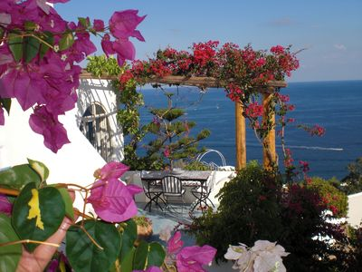 Photo for panoramic villa style eoleano in Panarea, the most 'beautiful of the Aeolian Islands!