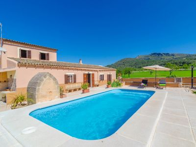 Photo for CAN BOTÓ - Villa with private pool in Manacor.