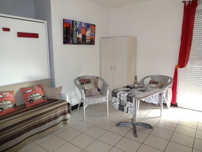 Photo for Canet beach studio with secure private parking