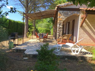 Photo for Nice and tastefully decorated holiday home with private pool, 3 km from Lorgues