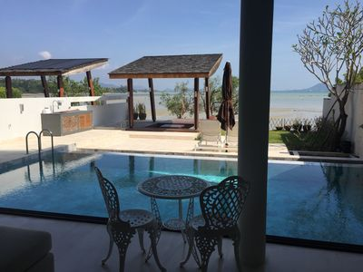 Photo for 3 Story Rawai Beachfront Luxury Pool Villa