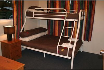 Bunks; Double + Single