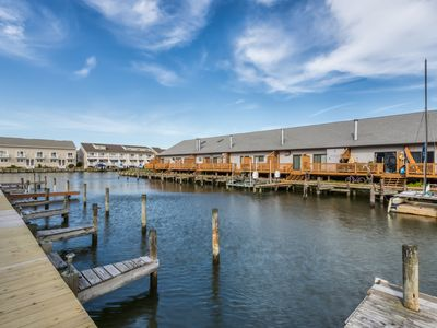 Photo for Family-friendly seaside condo w/ dock, free WiFi, and shared pool!