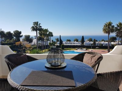 Photo for Luxury penthouse in marbella, with fantastic sea view