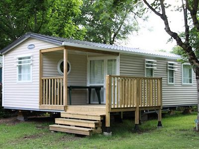 Photo for Camping Outdoor Neuvicois *** - Mobile Home Trio 4 Rooms 6 People