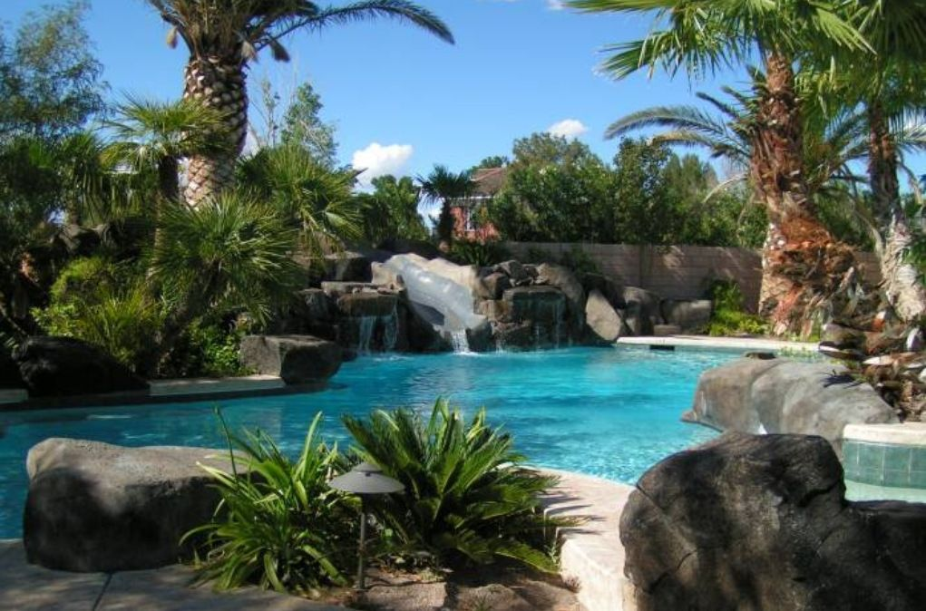 Las Vegas House Rental   The Private Pool Is A Tropical Oasis!