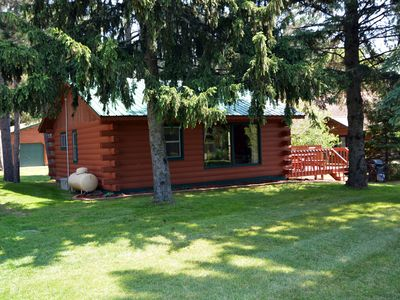 Photo for Chippewa Flowage 2 Bedroom Cabin Rental