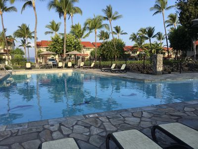 Photo for Great Two Story, End Unit Townhome in Kona Oceanfront Resort with central A/C