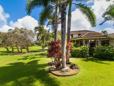 Photo for Hale Plumeria-gorgeous 4bd/4bth House On The Kiahuna Golf Course In Poipu