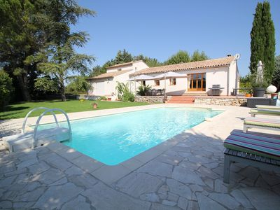 Photo for Large family house - PUYRICARD - swimming pool, calm, greenery