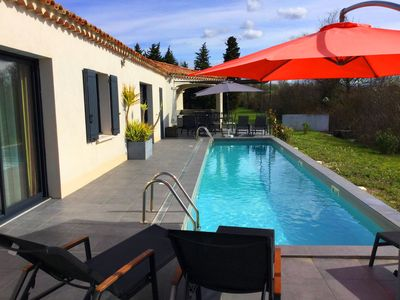 Photo for House with pool near the center of Isle sur la Sorgue - 8 people