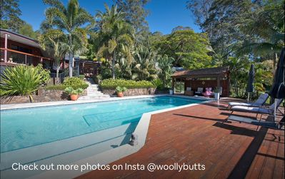 Photo for New! Gorgeous Byron hinterland cottage with resort pool