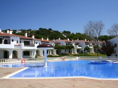 Photo for This 2-bedroom villa for up to 4 guests is located in Son Bou, Menorca and has a private swimming po