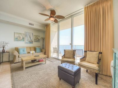 Photo for Warm, coastal condo at Tidewater! Free beach service! Fitness center + Roman spa on-site!
