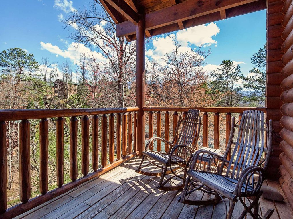 family game room family room rustic. Gatlinburg Cabin Rental - Seating On Both Balconies At Rustic Paradise For Early Morning Sunrises Or Family Game Room .