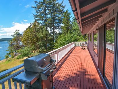 Photo for Waterfront at Roche Harbor! Walk to Marina, Tennis, Dining, Shops