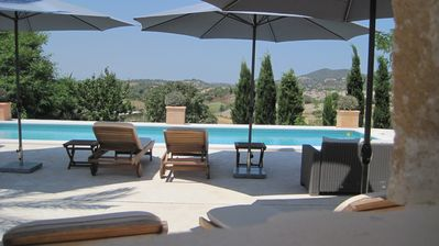 Photo for Charming finca large pool area for large families / groups W-LAN + telephone