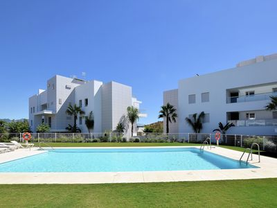 Photo for Luxurious and modern apartment with sea view on the La Cala Resort at Mijas