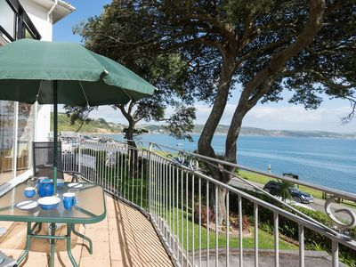 Photo for Beautifully appointed seafront apartment