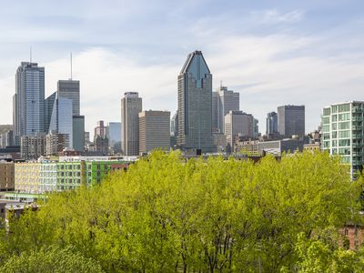 Photo for 1 bedroom apart, furnished and all included in Griffintown with panoramic views
