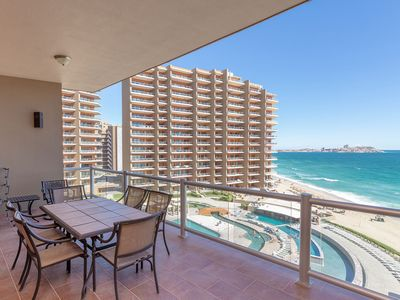 Photo for Clearest Blue Water - Condo by the Sea Las Palomas
