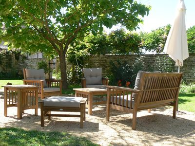 Enclosed courtyard garden - for the exclusive use of the Little Barn occupants