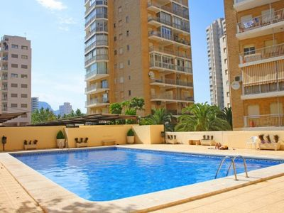 Photo for Ifac Apartment, Sleeps 5 with Pool, Air Con and WiFi