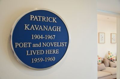 Come stay at the Mews... once home to Ireland's famous poet Patrick Kavanagh...