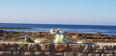 Photo for fisherman's house 20 m from the beach and sea view
