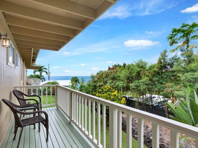 Photo for Ocean View | WIFI |  Steps to Snorkeling Beach | From $149/n