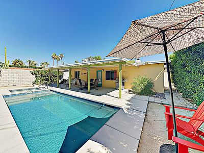Photo for New Listing! Movie Colony Oasis w/ Pool, Spa & Mountain Views, Near Downtown