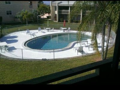 Photo for Recently remodeled! Wide Canal View! Large heated pool.Hi quality linens!