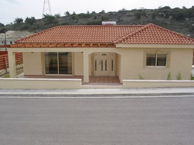Photo for Luxury 3 bedroom villa near Limassol with free wifi, private pool and garden