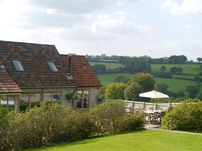 Photo for Peaceful retreat with stunning views in the heart of the Blackdown Hills