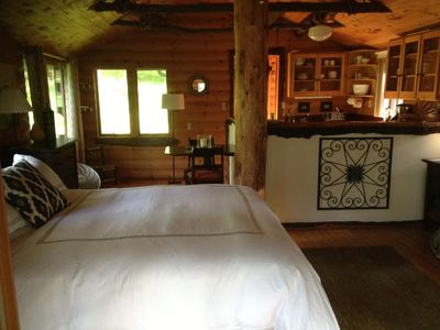Photo for Cozy Catskills Guest Cabin Near Lakes