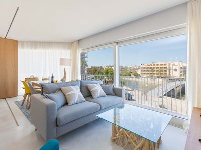 Photo for Ximet Arena - apartment on the beach, air conditioning, internet