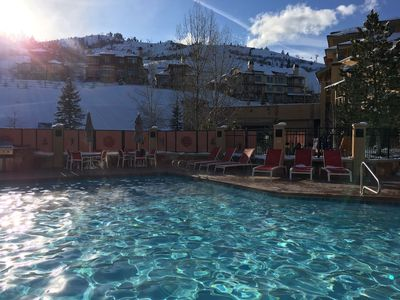 enjoy a wonderful resort with amenities such as the year round heated pool
