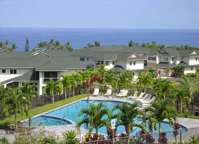 View of the amazing pool with Ocean views